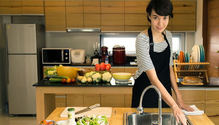 วิธีทำความสะอาดห้องครัว