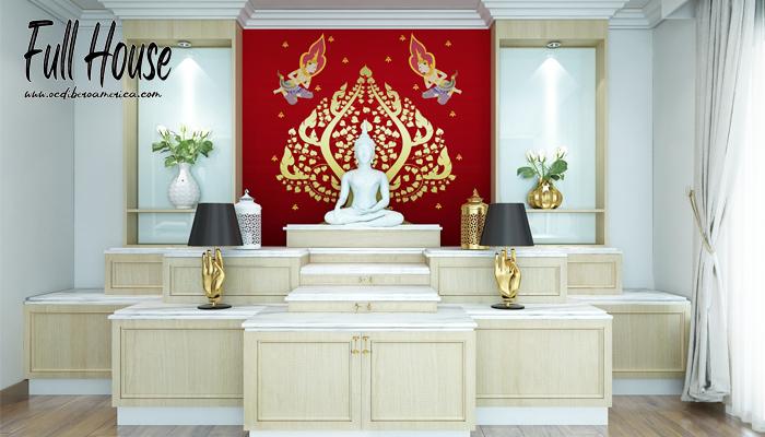 ประดิษฐานพระพุทธรูปตามหลักฮวงจุ้ย