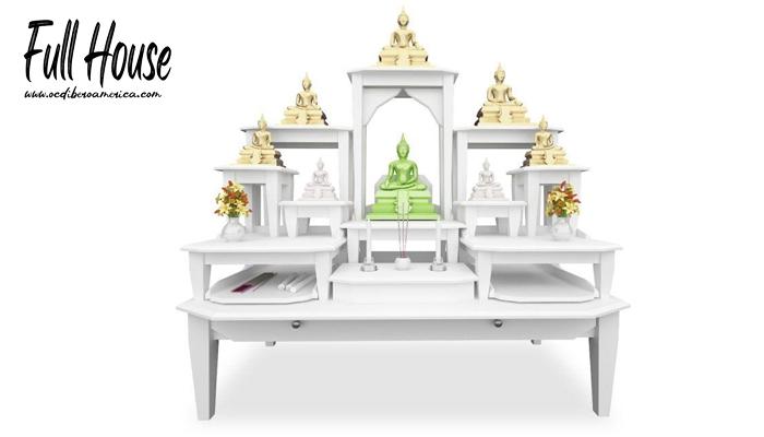 โต๊ะหมู่บูชาเพื่อฮวงจุ้ยที่ดี