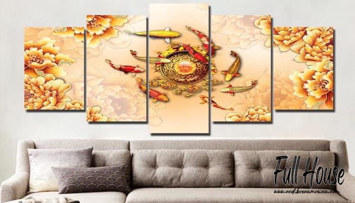 หลักฮวงจุ้ยแต่งบ้านด้วยรูปภาพ