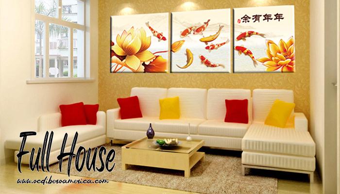 เสริมฮวงจุ้ยบ้านด้วยภาพตกแต่ง และลักษณะของห้องต่างๆ